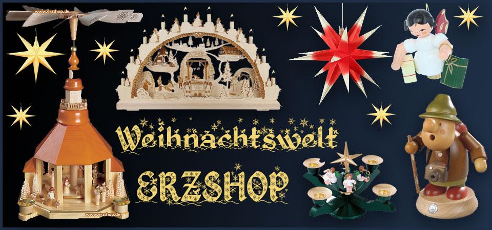 Weihnachtswelt Erzshop - Erzgebirgskaufhaus Erzgebirge